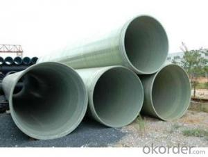 Light weight with High Pressure GRE Pipe with noxic of different styles