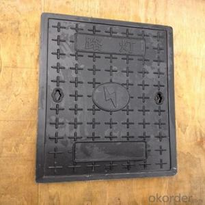 Professional Ductile Iron Manhole Cover for Industry and Construction