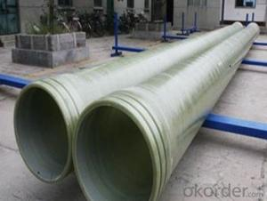 High Pressure GRE Pipe of lastest design with Long life span on sales