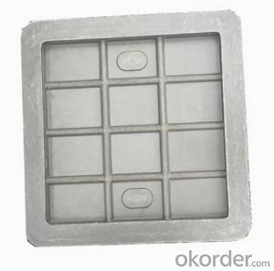 Popular Ductile Iron Manhole Cover with OEM Service