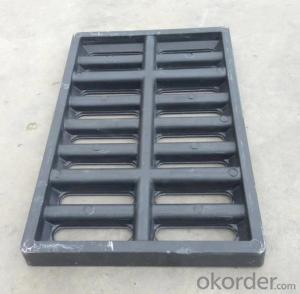 Cast Ductile Iron Manhole Covers C250 for Mining and construction with Frames