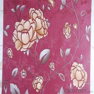 New Designs Non-woven Wallpaper for Walls with Great Color Cheap Price