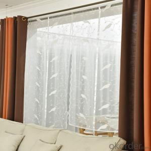 Curtain Waterfall Decorative Window Blinds
