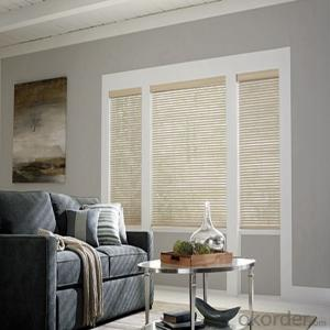 Wood Roof Paint Roller Blinds Valance Shades