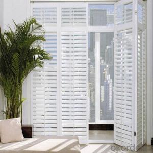 Wood Sliding Door Window Blinds Components