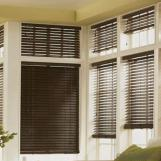 Wood Sun Shading Roller Blinds Shades Valance