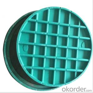 Light and Heavy Duty Ductile Iron Manhole Cover with Kinds of Standard Sizes