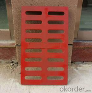 Cast ductile iron manhole cover for mining made in Hebei