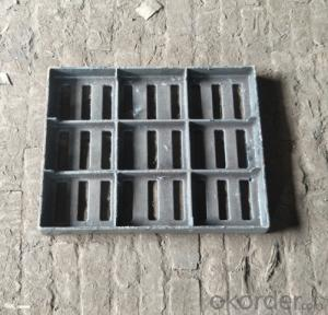 Cast Ductile Iron Manhole Covers C250 for Mining with Frames Made in China