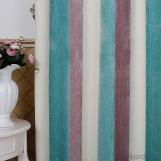 chenille cashmere yarn-dyed curtain striped high qaulity