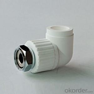 PPR Pipe Fittings Elbow for Water Supply Environmentally Friendly