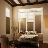 Somfy Electric Skylight Roller Horizontal Blinds