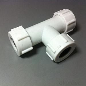 China PPR Equal Tee Fitting Used in Industrial Application