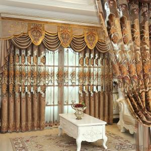 Home curtain hotel curtain blackout curtain chenille curtain home textile fabric