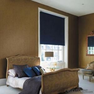 Vertical Fabric Caravan Window Blinds Valance