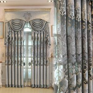 Home curtain hotel curtain blackout curtain  Nordic style chenille curtains,for all rooms