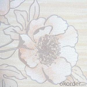 3D Foaming Home Decoration Cloth Flower Wall Wallpaper