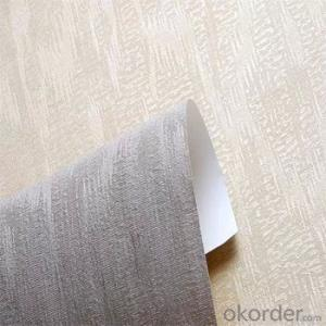 Modern Decorative Wallpaper Deep Embossed PVC Wallpaper