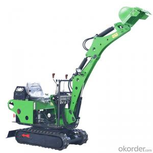 Mini excavator 0.8 ton with hydraulic pump