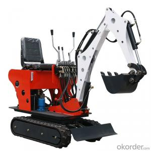 VTW-08 0.8ton mini excavator with excavator joystick handle