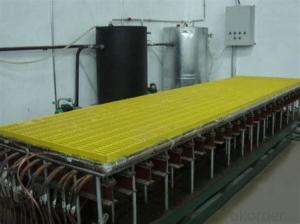 Intelligent Molded FRP Machine for Producing Grating Automatically