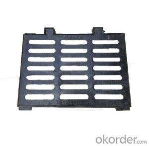 Casting Ductile Iron Manhole Covers C250 for Mining and construction with Frames