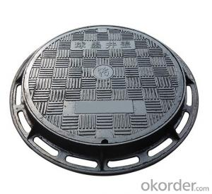 EN 214 ductile iron manhole covers with superior quality made in China