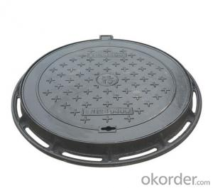 New design ductile iron manhole cover for miining made in Hebei