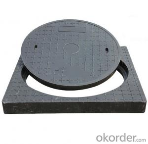 Casting ductile iron manhole cover hot sale with frames for industry in China