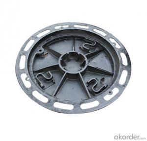 OEM ductile iron manhole covers with superior quality
