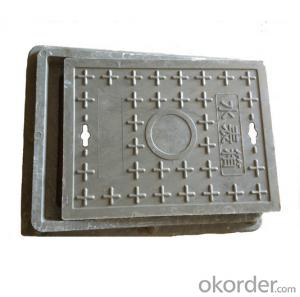Iron Ductile Manhole Cover with OEM Service and EN124