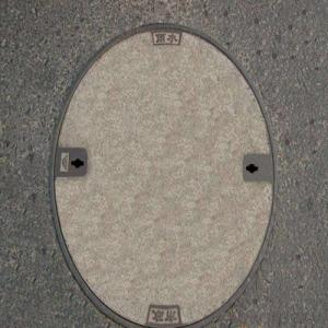 Ductile Casting Iron Manhole Cover with Square or Round OEM Service