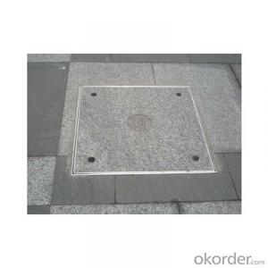 Ductile Iron Manhole Cover with EN124 C400 in China