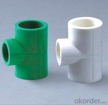 PPR Pipe Fittings for Water Supply Environmentally Friendly