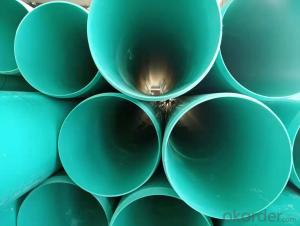 dn110-1200mm PVC-UH sewage, drainage pvc-uh pipe