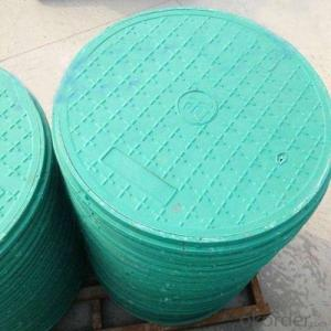Casting Iron Manhole Cover C250 B125 D400 with New Style