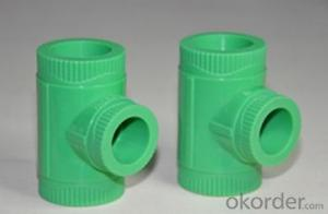 2019 Plastic Pipe Tee for Water Supply Environmentally Friendly
