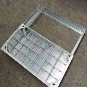 Casting Iron Manhole Cover C250 B125 D400 with New Styles