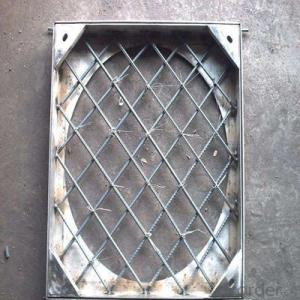 C250 B125 Ductile Iron Manhole Cover and Frames in Hebei