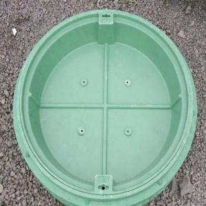Ductile Cast Iron Double Seal Manhole Cover and Frame EN124