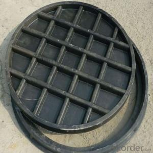 Construction Used Ductile Iron Manhole Cover EN124