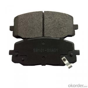 semi-metallic/ceramic auto  brake pads D1601 with high quality from china