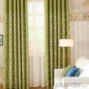 Home curtain hotel curtain blackout curtain cotton and linen curtain fabric