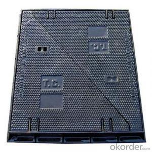 Ductile Casting Iron Manhole Cover EN124 in Handan Hebei