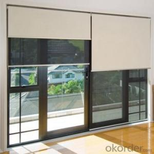 Outdoor Motorized Roller Blinds Suction Cup Blinds
