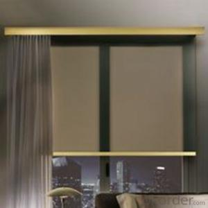 Waterproof Roller Blind Cordless Faux Wood Blinds Roller Blinds Blackout