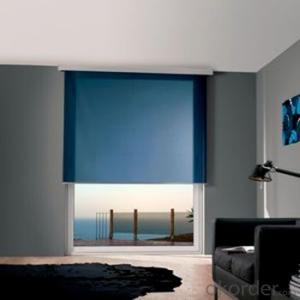 Double Roller Blind Printed Aluminum Blinds Outdoor