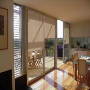 PVC Bamboo Blind Roller Panel Blinds Parts