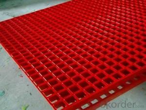 Aesthetically pleasing appearance FRP pultruded grating and Pultrusion Process made in China