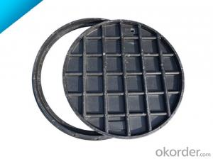 Casting CNBM ductile iron manhole cover with superior quality for mining